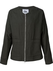 Chapter Zipped Jacket Green