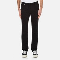 Versace Collection Men's All Over Print Jeans Black