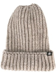 Paul Smith Ps By Chunky Knit Beanie Nude Neutrals