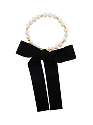 Magda Butrym Pearl And Gold Necklace White