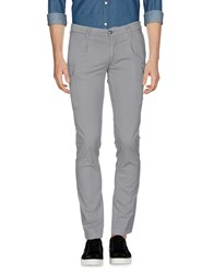 One Seven Two Trousers Casual Trousers Light Grey