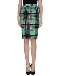 Emma Cook Knee Length Skirts Black