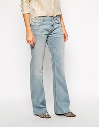 Zadig And Voltaire Zadig And Voltaire Ella Flare Jeans Bleu