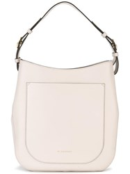 Burberry Buckled Detailing Tote Nude Neutrals