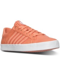 K Swiss Women's Belmont So T Sherbert Casual Sneakers From Finish Line Fresh Salmon White