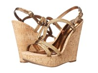 Carlos By Carlos Santana Barby Bronze Women's Wedge Shoes