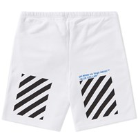 Off White Blue Collar Short