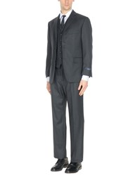 Brooks Brothers Suits Steel Grey