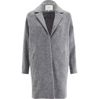 Selected Femme Women's Sandrias Wool Coat Dawn Blue Grey