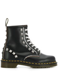 Dr. Martens Studded Lace Up Boots Black