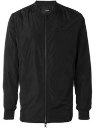 Stampd Scalloped Bomber Jacket Black