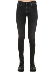 Diesel Roisin High Rise Skinny Denim Jeans Black