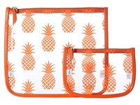 Echo Pineapple Clearly Cool Pouch Mambo Orange Handbags Yellow