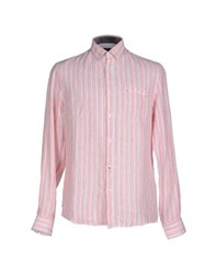 Trussardi Jeans Shirts Shirts Men Red