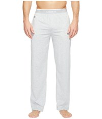 Lacoste Solid Pants Grey Men's Pajama Gray