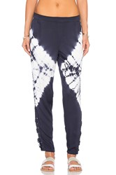 Gypsy 05 Lace Up Ankle Pant Blue