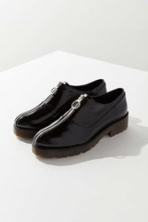 Urban Outfitters Tanis Zip Front Oxford Black