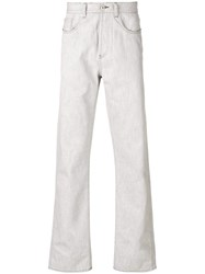 Natural Selection Straight Leg Jeans Grey