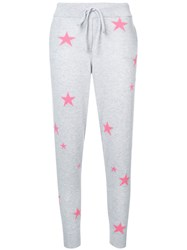 Chinti And Parker Cashmere Star Print Joggers Cashmere L Grey