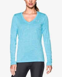 Under Armour Tech Twist Long Sleeve Top Venetian Blue