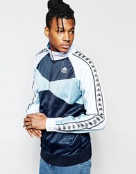 Kappa Retro Track Jacket Navy