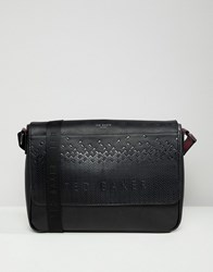 3ce861c95a46 Ted Baker Wowee Embossed Messenger Bag Black
