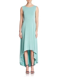 Bcbgmaxazria Fara Hi Lo Maxi Dress Vintage Light Aqua
