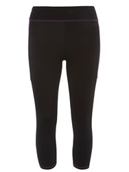 Dorothy Perkins Cropped Sports Leggings Purple
