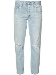 Citizens Of Humanity Emerson Distressed Jeans Blue