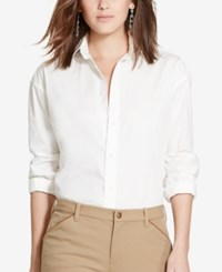 Polo Ralph Lauren Relaxed Fit Classic Shirt White