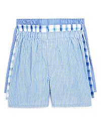 Bloomingdale's The Men's Store At Cotton Boxers Pack Of Three Blues