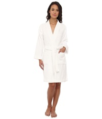 Lauren Ralph Lauren Greenwich Woven Terry Robe White Women's Robe