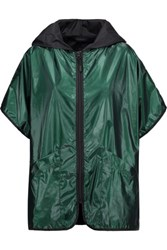 Koral Coated Shell Hooded Jacket Forest Green