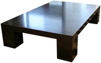 James De Wulf Block Coffee Table