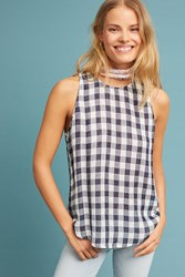 Cloth And Stone Gillian Gingham Top Assorted