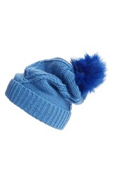 Wildfox Couture Women's Wildfox Cable Knit Pompom Beanie
