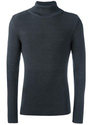S.N.S. Herning 'Real' Ribbed Jumper Grey