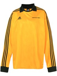 Gosha Rubchinskiy X Adidas Logo Long Yellow And Orange