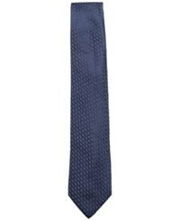Ryan Seacrest Distinction Men's David Nonsolid Silk Tie Created For Macy's Navy