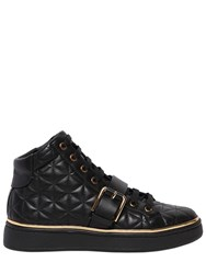 Balmain 20Mm Active Quilted Leather Sneakers