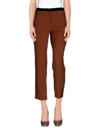 Aniye By Trousers Casual Trousers Women Brown