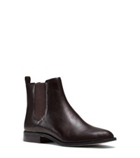 Michael Michael Kors Thea Leather Ankle Boot Chocolate