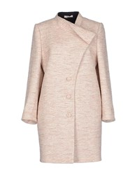 Bouchra Jarrar Coats And Jackets Coats Women Light Pink