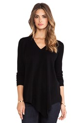 Joie Tambrel B V Neck Sweater Black