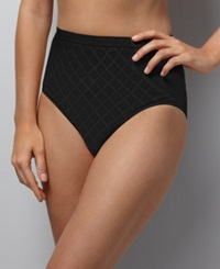 Bali Comfort Revolution Micro Diamond Brief 803J Black