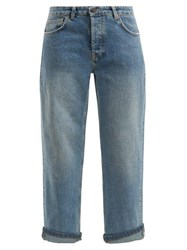 Raey Dad Baggy Boyfriend Jeans Light Blue
