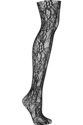 Wolford Clair Floral Lace Tights