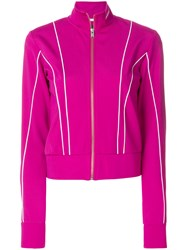 Misbhv Aspen Track Top Pink And Purple