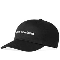 Uniform Experiment Cotton Twill Logo Cap Black