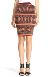 Plenty By Tracy Reese 'Folklorics' Knit Pencil Skirt